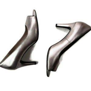 "Easy Spirit Womens Shoes Sz 11M, Silver, 3"" Heel,"
